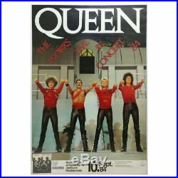 Queen 1984 Westfalenhalle Dortmund Concert Poster (Germany)