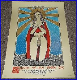 Queens Of The Stone Age Black Keys Mllwaukee concert poster 2007 Malleus
