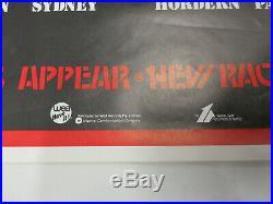 RADIO BIRDMAN On Tour with IGGY POP 1977 ORG AUSTRALIA PUNK Concert Tour POSTER