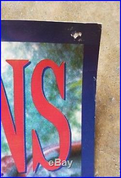 RARE 1991 SMASHING PUMPKINS Poster GISH Concert Promo Tour VINTAGE 36x21