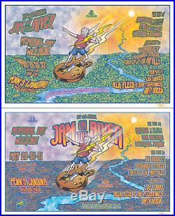 RATDOG BELA FLECK 1999 Original Philadelphia Concert Posters Set 2 posters DEAD