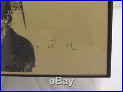 Radiohead Teenage Fan Club Hammerstein Ballroom 1997 Vtg Concert Poster Rare