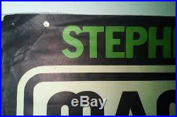 Rare Original 1972 Stephen Stills Manassas Concert Poster Vintage 70's Rock