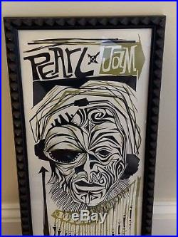 Rare Original Pearl Jam New Zealand 1998 Concert Poster Ames Bros