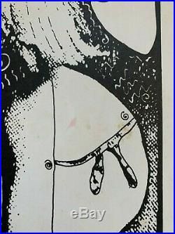 Red Hot Chili Peppers Austin Opera House Original Concert Poster Kozic 1989 RARE