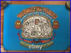 Rick Griffin Big Brother Blue Cheer Vintage Original Concert Poster 1967 Minty