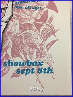 Rilo Kiley Tour Poster Concert Screen Print 24 x 18 Silkscreen Showbox Seattle