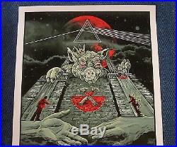 Roger Waters 2017 Limited Edition Concert Poster US + THEM Tour Pink Floyd Gray