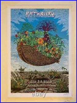 Rothbury Festival Concert Poster The Dead 2009 Emek