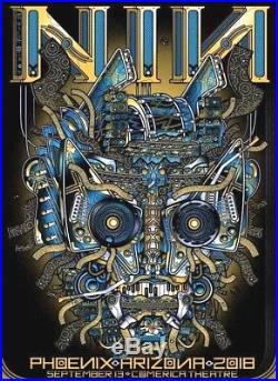 SIGNED Nine Inch Nails PHOENIX AZ SEPT 13th 2018 AP Concert Print Poster NiN