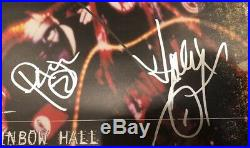 SLIPKNOT BAND SIGNED 20x29 Concert Tour Poster 9 Signatures withPaul Gray BECKETT