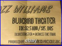 Scarce Rozz Williams Death Christian Concert Poster Bluebird Theater Denver CO