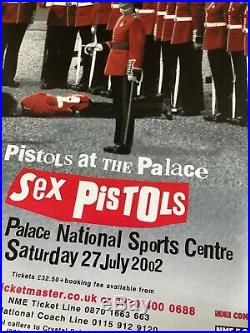 Sex Pistols Rare Original Concert Posters Finsbury Park And Crystal Palace