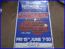 Showaddywaddy 6 Original Late 80s Early 90s Uk Concert Posters Great Designs