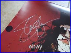 Slash Guns & Roses Signed Autograph 24x24 Steadman Concert Poster PSA Certified