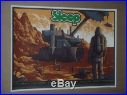 Sleep New York Boston Arik Roper signed concert poster screen print Dopesmoker