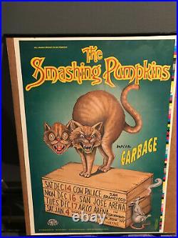 Smashing Pumpkins Concert Bill Poster San Francisco 1996 TOUR Mellon Collie MCIS