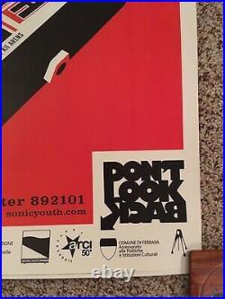 Sonic Youth Tour Concert Poster Italy 2007 Original Poster Ferrara Cat Is Alien
