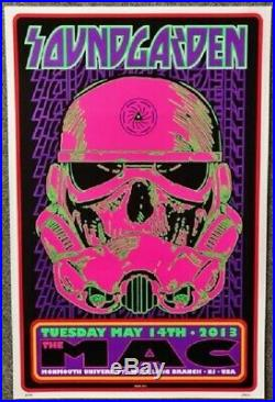 Soundgarden Concert Poster 2013 A/P Frank Kozik