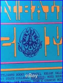 Spectacular Vintage 1967 The DOORS Jim Morrison Original Concert Poster No Flaws