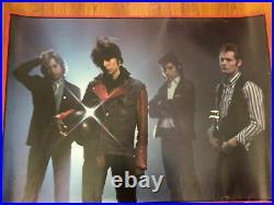 THE PRETENDERS 1980 Concert Vintage Original BY FIN COSTELLO BIG'O POSTERS Rare