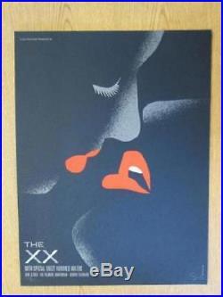 The XX Denver 2013 Original Concert Poster Dan Stiles Silkscreen