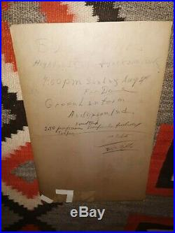 TINY BRADSHAW Original Concert Poster 22 x 14 1947 The Train Kept A-Rollin