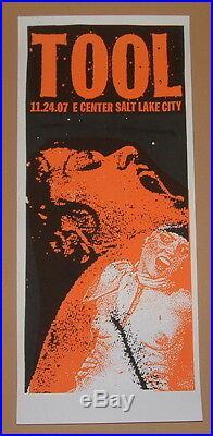 TOOL Salt Lake City Utah Print Mafia Concert Poster Print 2007 Band Art