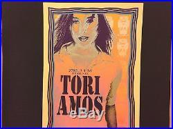 TORI AMOS 1996 Orpheum Original Concert Poster Print SIGNED MARK ARMINSKI RARE