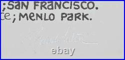 The Band Concert Poster Randy Tuten Signed San Francisco 1971