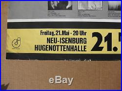 The CURE Neu-Isenburg Hugenottenhalle GERMANY 1982 CONCERT POSTER Incredible