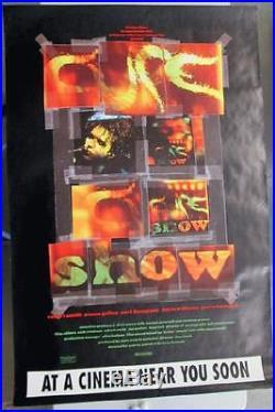 The Cure Show 1993 Original Promo Poster Concert Jumbo Subway