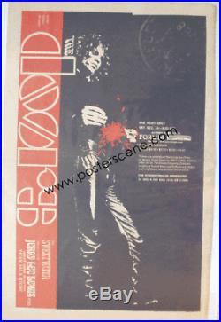 The Doors La Forum 1968 Original Concert Ad Poster Newspaper