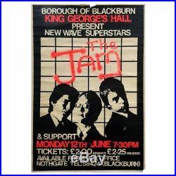 The Jam 1978 King Georges Hall Blackburn Concert Poster (UK)