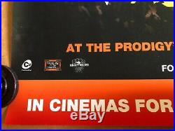 The Prodigy Original Concert Cinema Quad Poster 2010 Worlds On Fire