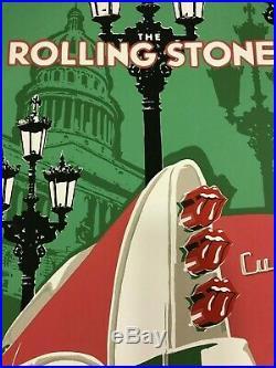 The Rolling Stones Poster Havana Cuba Concert March 25/2016 Exclusive Original