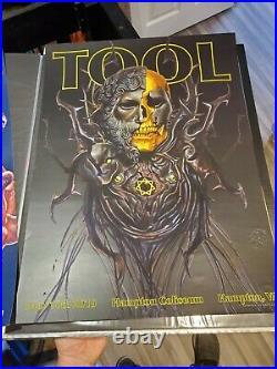 TooL concert poster Hampton Coliseum VA May 10 2019 Adi Granov band