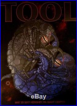 TooL concert poster-Hershey PA 5/25/17 artwork/Adam Jones 2017 print giant