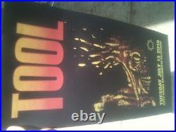 TooL concert poster-Sacramento CA 7/13/10 artwork/Adam Jones print ArcoTRADE