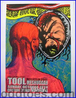 Tool Concert Poster 2002 Colorado Springs Lindsey Kuhn