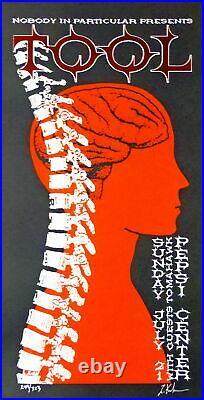 Tool Concert Poster Denver 2002 Lindsey Kuhn