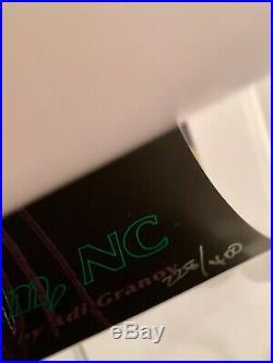 Tool Epicenter Rockingham, North Carolina Concert Poster New
