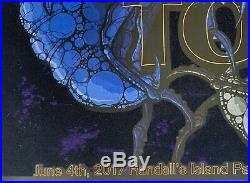 Tool Poster governors ball concert NY 2017 tour adam jones art for charity