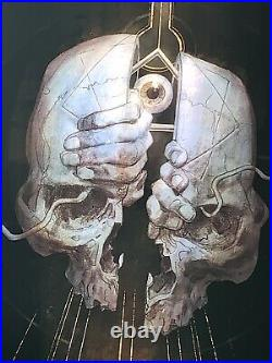 Tool Poster milwaukee artist proof 2019 concert tour 12/70 rare fear inoculum