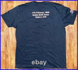 Tool Sydney Australia Shirt Tour Concert Large L 2/17/20 Poster Authentic
