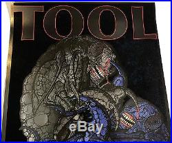 Tool Velvet Embossed Concert Poster Print Rochester NY 5/30/17 art by Adam Jones