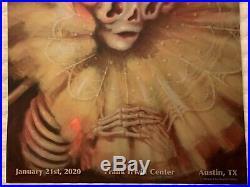 Tool austin poster 2020 concert tour texas brandi milne holographic