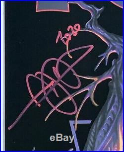 Tool signed poster atlanta concert 2020 mark brooks art fear inoculum tour