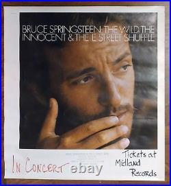 Ultra-Rare! BRUCE SPRINGSTEEN Original 1975 Concert Poster #1