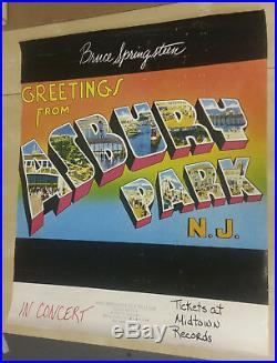 Ultra-Rare! BRUCE SPRINGSTEEN Original 1975 Concert Poster #2
